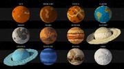 태양계 저 폴리 3d model