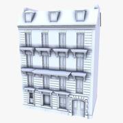 Parijse builnding (geen texturen) 3d model