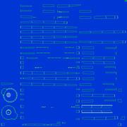Ballpoint Pen 01 Blue 3d model