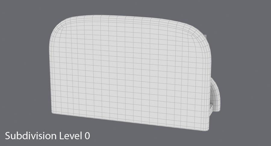 Etui na wizytówki 01 royalty-free 3d model - Preview no. 14
