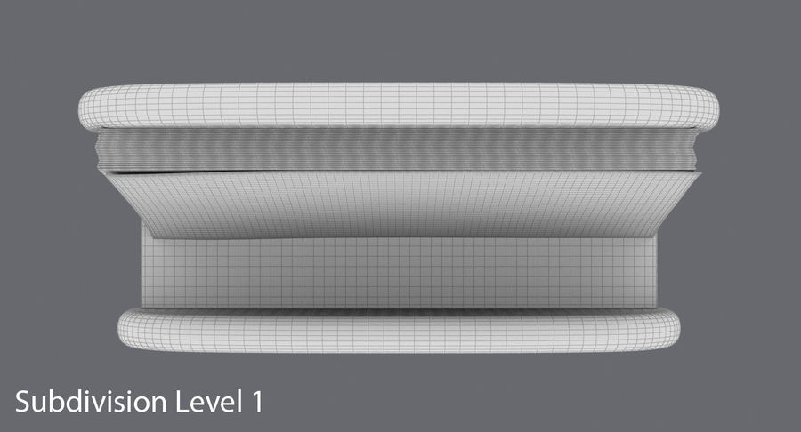 Etui na wizytówki 01 royalty-free 3d model - Preview no. 16