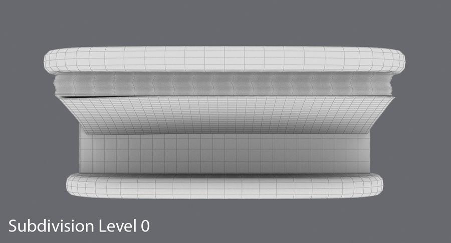 Etui na wizytówki 01 royalty-free 3d model - Preview no. 13