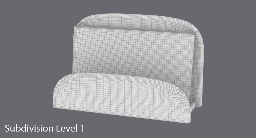 Etui na wizytówki 01 royalty-free 3d model - Preview no. 15