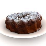 Ring Cake 3d model