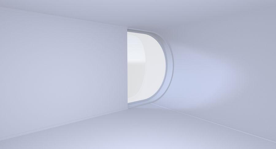인테리어와 모던 하우스 royalty-free 3d model - Preview no. 10