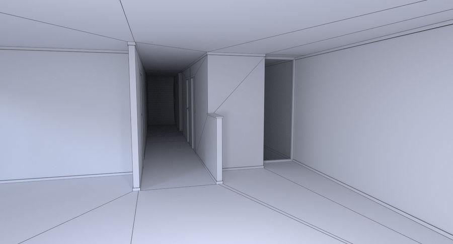 인테리어와 모던 하우스 royalty-free 3d model - Preview no. 21