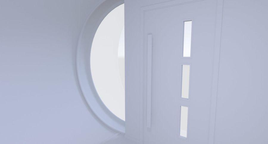 Modern huis met interieur royalty-free 3d model - Preview no. 11