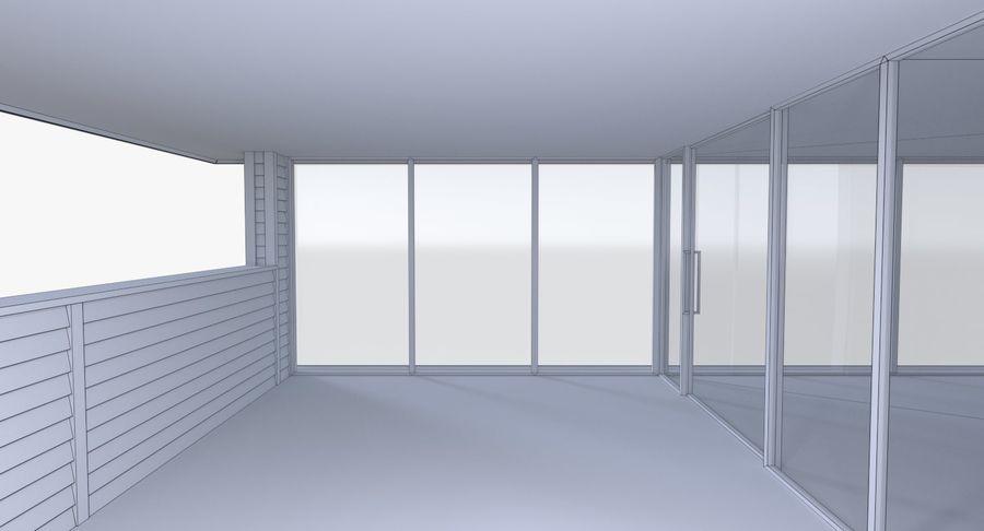 Modern huis met interieur royalty-free 3d model - Preview no. 20