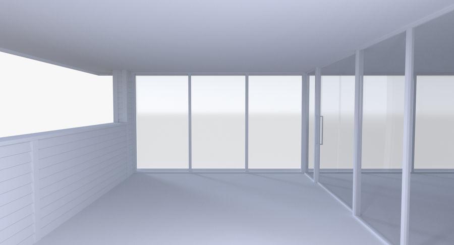 인테리어와 모던 하우스 royalty-free 3d model - Preview no. 7