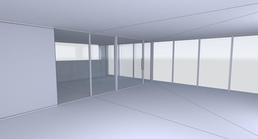 Modern huis met interieur royalty-free 3d model - Preview no. 26