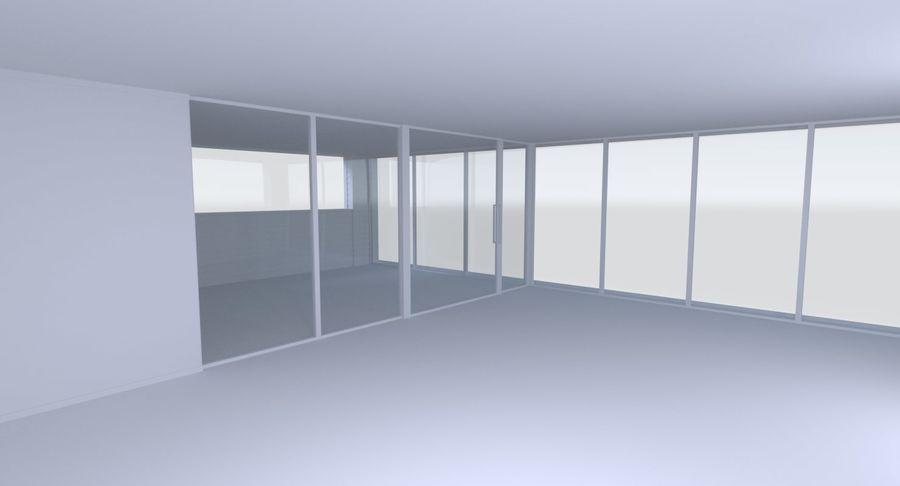 Modern huis met interieur royalty-free 3d model - Preview no. 13