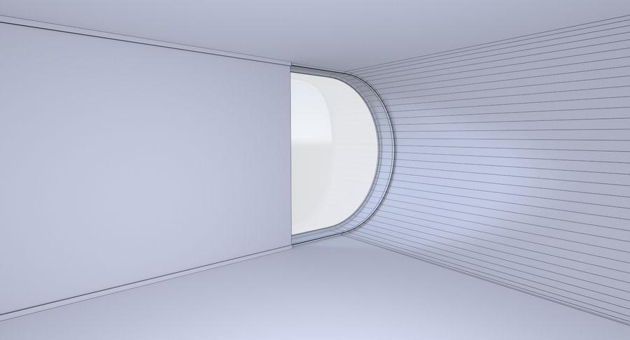 인테리어와 모던 하우스 royalty-free 3d model - Preview no. 23