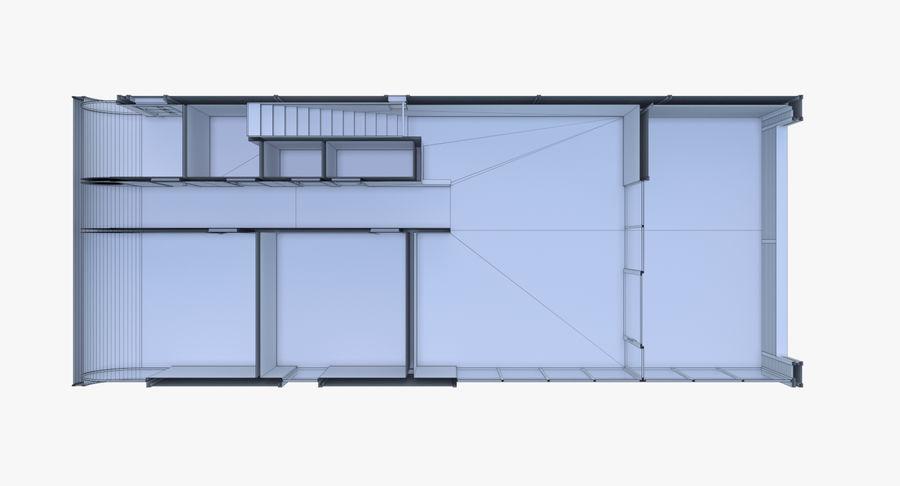 인테리어와 모던 하우스 royalty-free 3d model - Preview no. 28