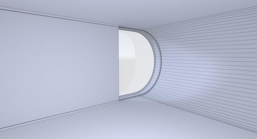Modern huis met interieur royalty-free 3d model - Preview no. 23