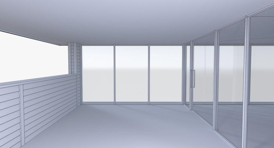 인테리어와 모던 하우스 royalty-free 3d model - Preview no. 20