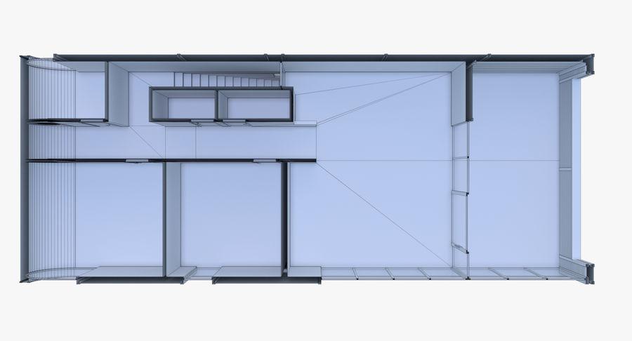 인테리어와 모던 하우스 royalty-free 3d model - Preview no. 27
