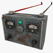 Old Battery Charger 3d model