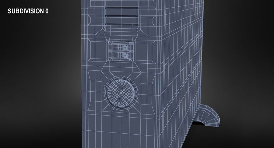 Generic Electric Convector Heater royalty-free 3d model - Preview no. 11