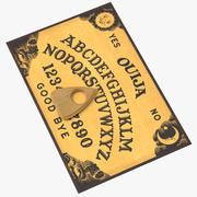 Ouija styrelse 02 3d model