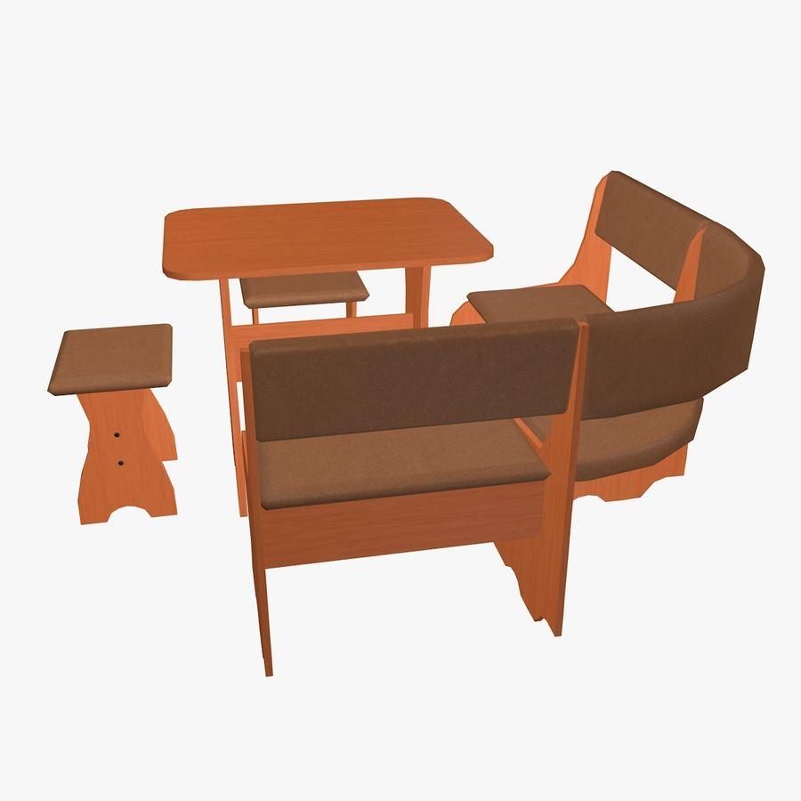 Muebles de cocina royalty-free modelo 3d - Preview no. 4