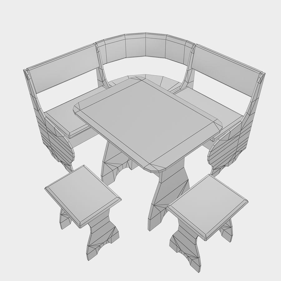 Muebles de cocina royalty-free modelo 3d - Preview no. 19