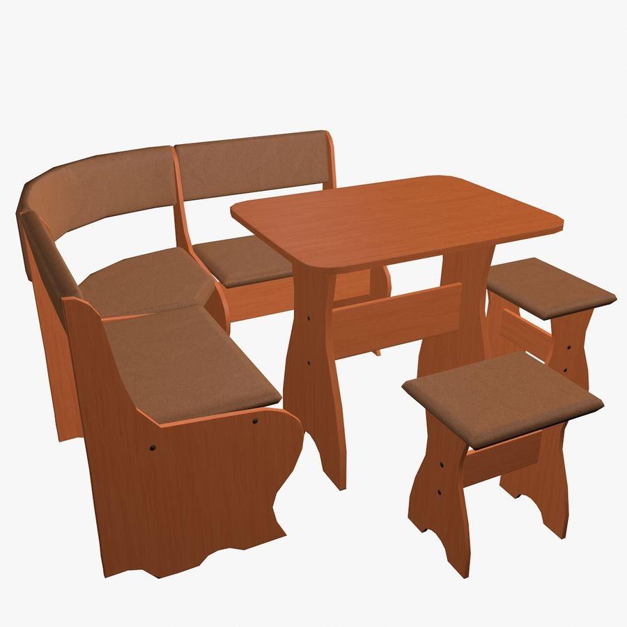 Muebles de cocina royalty-free modelo 3d - Preview no. 2