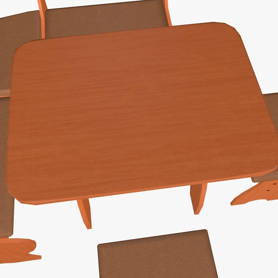 Muebles de cocina royalty-free modelo 3d - Preview no. 9