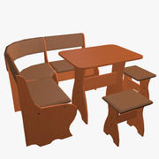 Küchenset Möbel 3d model