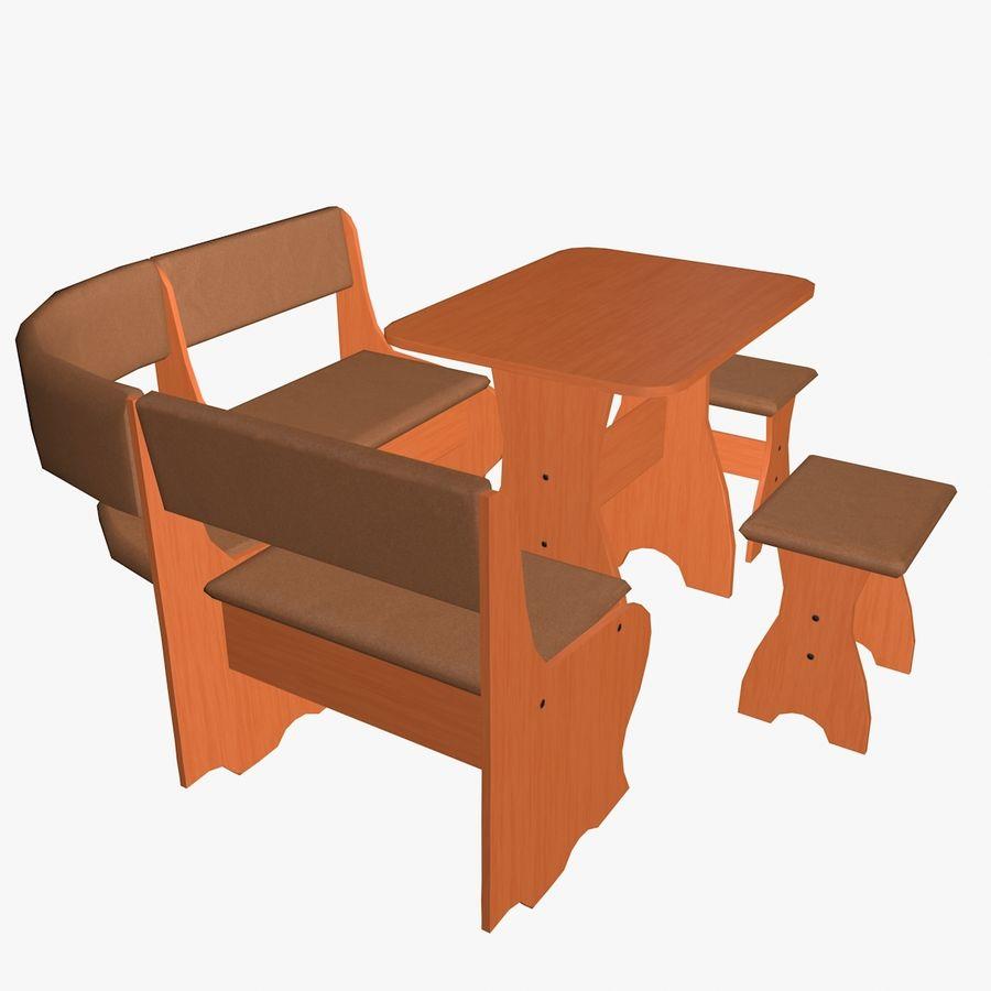Muebles de cocina royalty-free modelo 3d - Preview no. 6