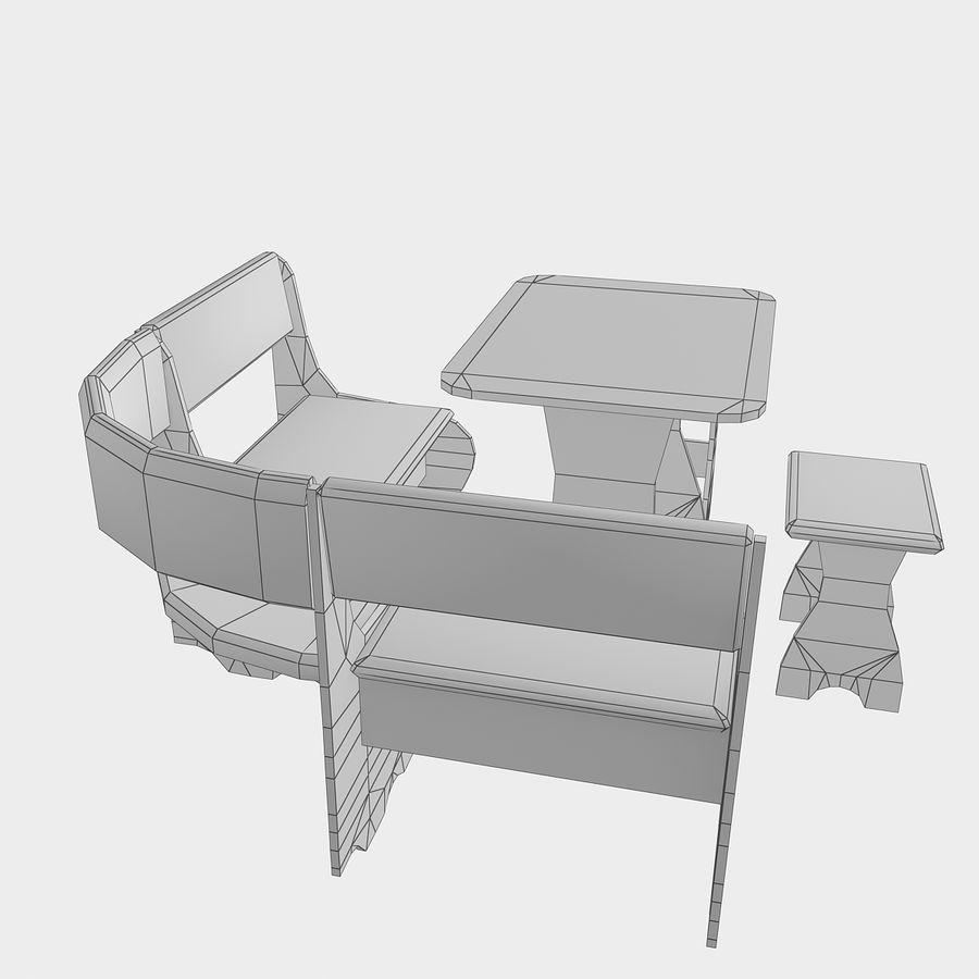 Muebles de cocina royalty-free modelo 3d - Preview no. 18