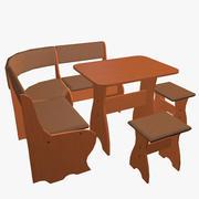 Muebles de cocina modelo 3d