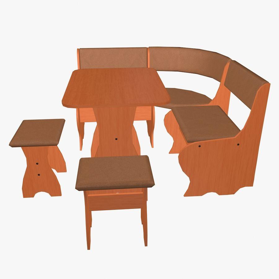 Muebles de cocina royalty-free modelo 3d - Preview no. 5