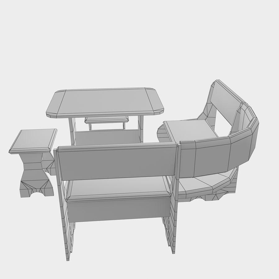 Muebles de cocina royalty-free modelo 3d - Preview no. 17