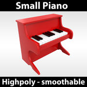 Kleine piano 3d model