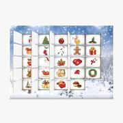 Adventskalender Weihnachten 3d model