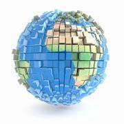 지구 3d model