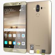 Huawei Mate 9 Mocha Brown 3d model
