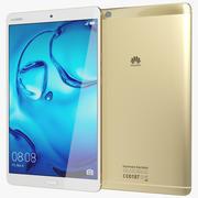Huawei MediaPad M3 Gold 3d model