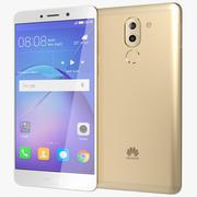 Huawei Mate 9 Lite / Honor 6x goud 3d model