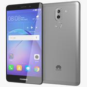 Huawei Mate 9 Lite / Honor 6x grijs 3d model