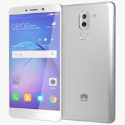 Huawei Mate 9 Lite / Honor 6x Zilver 3d model