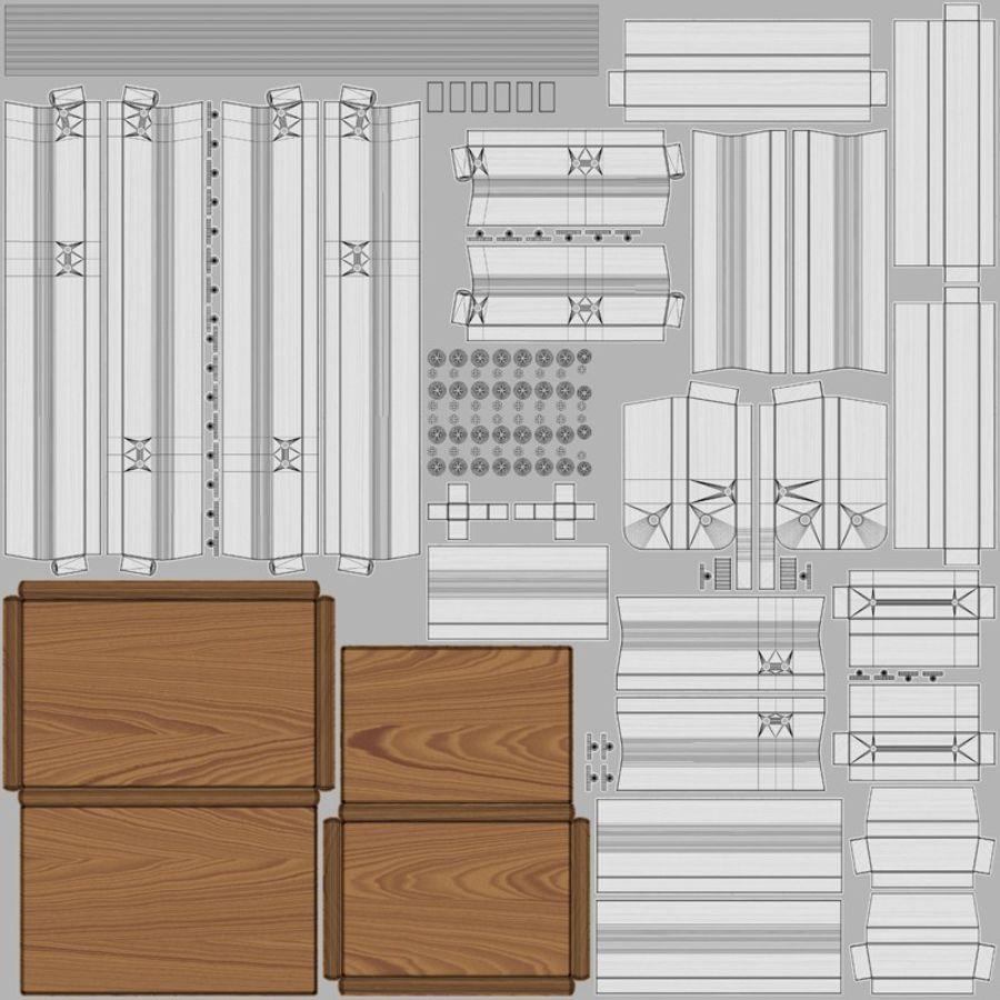 Scaletta per scaletta 10 royalty-free 3d model - Preview no. 12