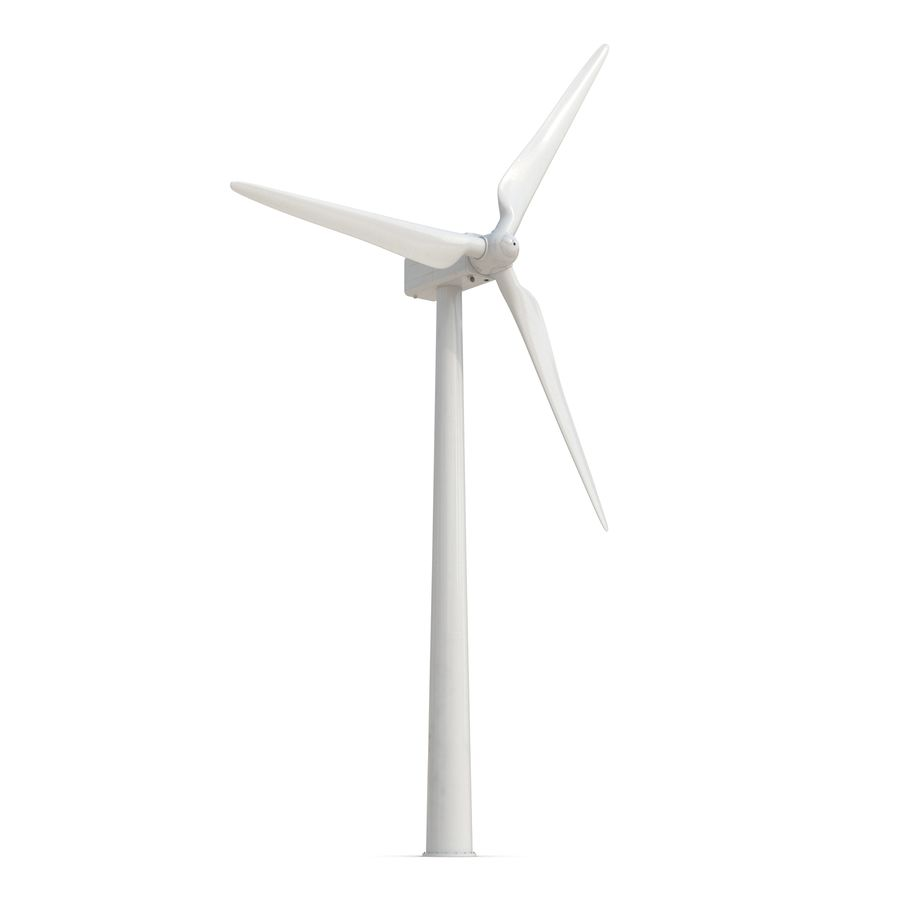Generic Wind Turbine royalty-free 3d model - Preview no. 3