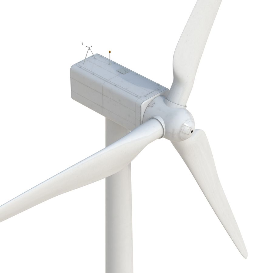 Generic Wind Turbine royalty-free 3d model - Preview no. 14
