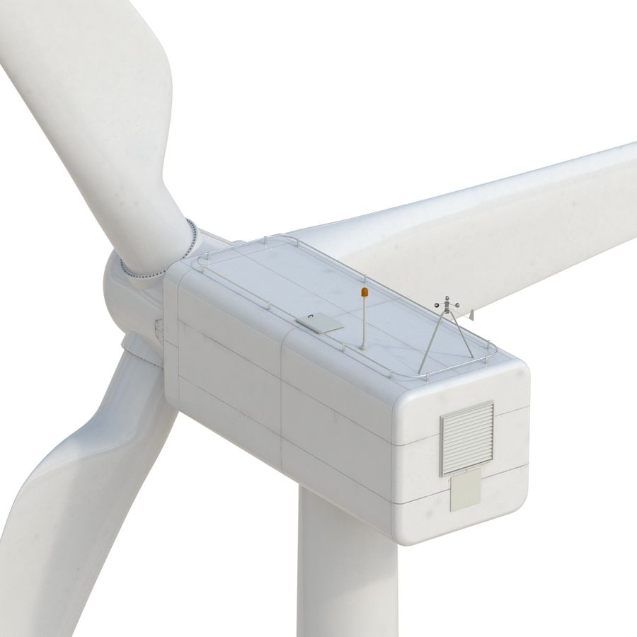 Generic Wind Turbine royalty-free 3d model - Preview no. 15