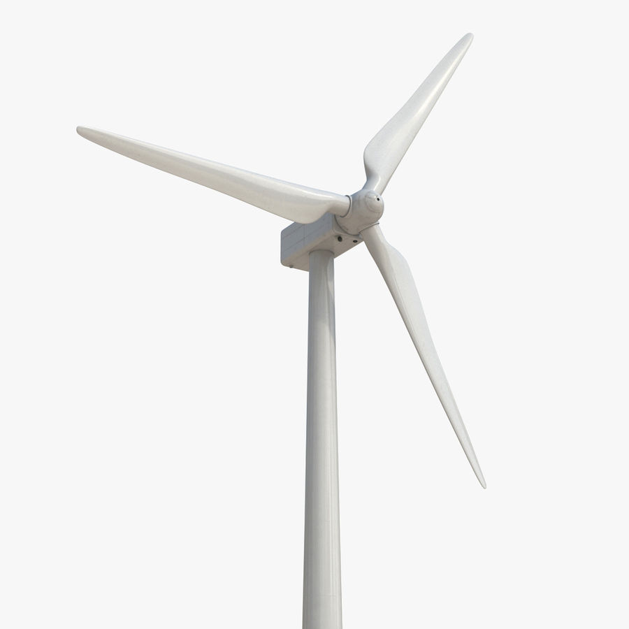Generic Wind Turbine royalty-free 3d model - Preview no. 1