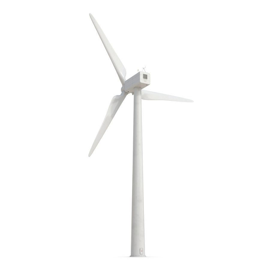 Generic Wind Turbine royalty-free 3d model - Preview no. 6