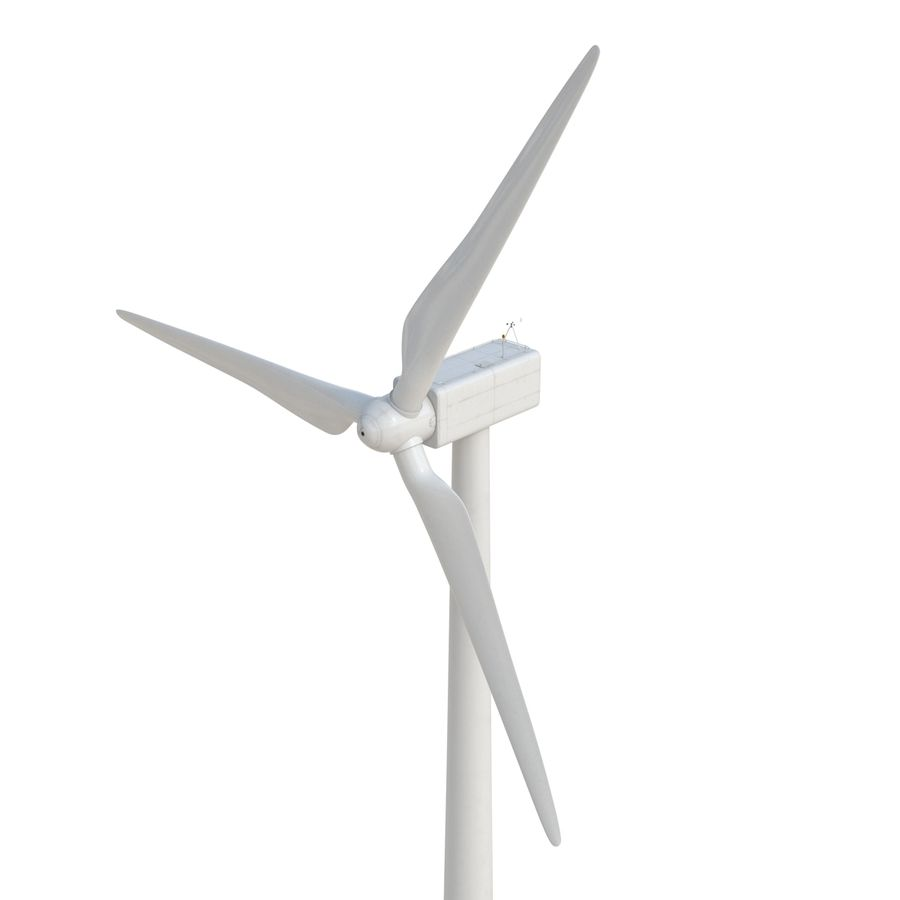Generic Wind Turbine royalty-free 3d model - Preview no. 11