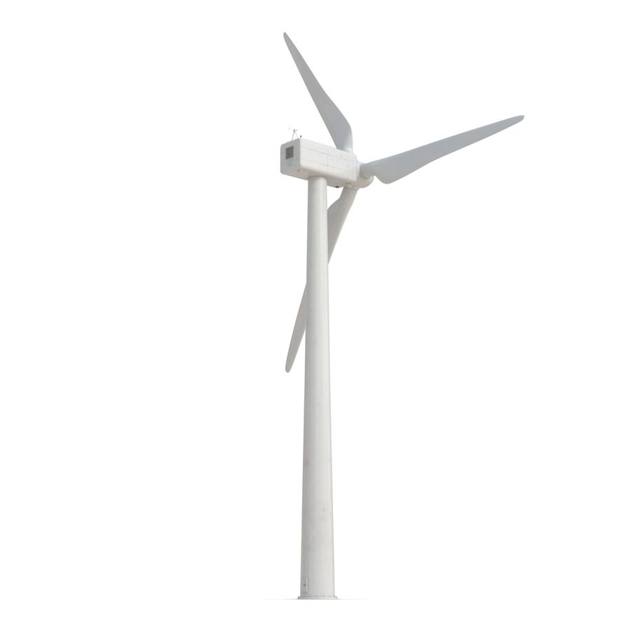 Generic Wind Turbine royalty-free 3d model - Preview no. 5