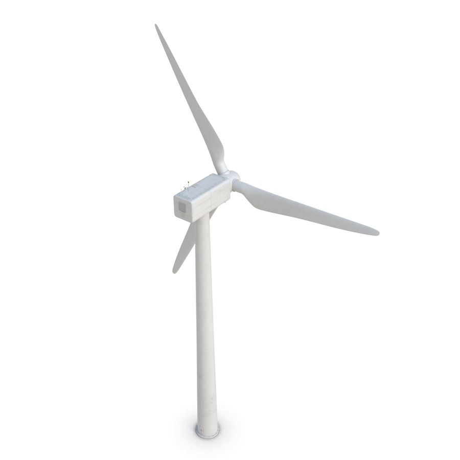 Generic Wind Turbine royalty-free 3d model - Preview no. 10